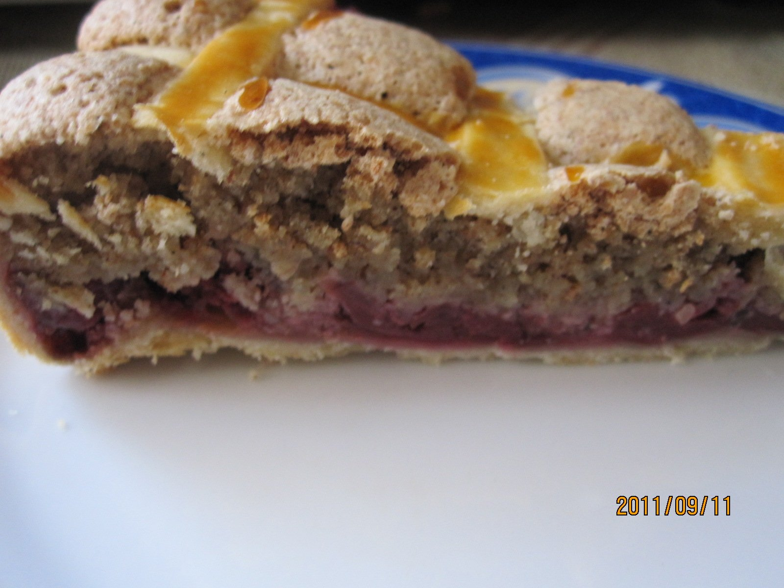 Diós meggyes pite (2)