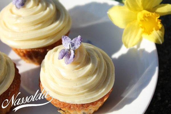 Tavaszi, vaníliás muffin