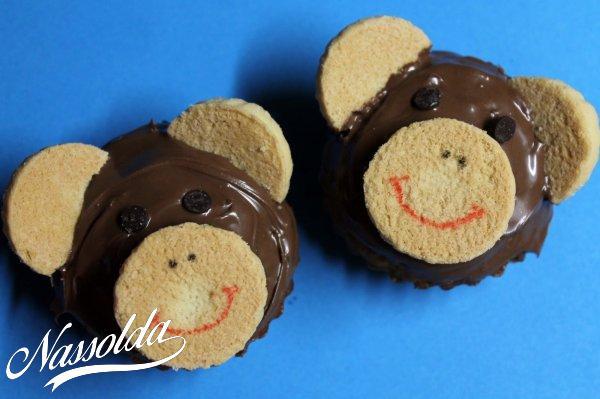 Majmos cupcake