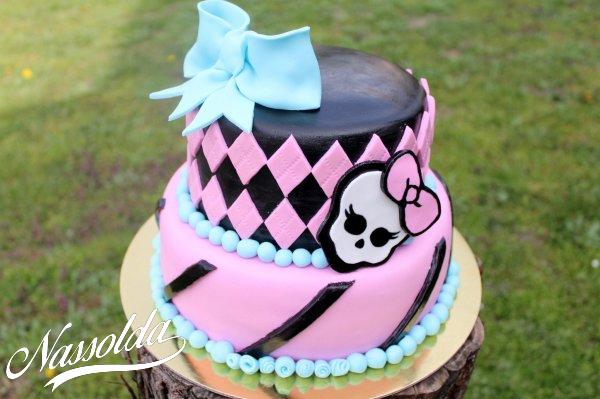 Monster High torta (egyéb torta ötletek)