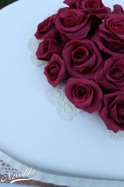 cukorcsipke és rózsa